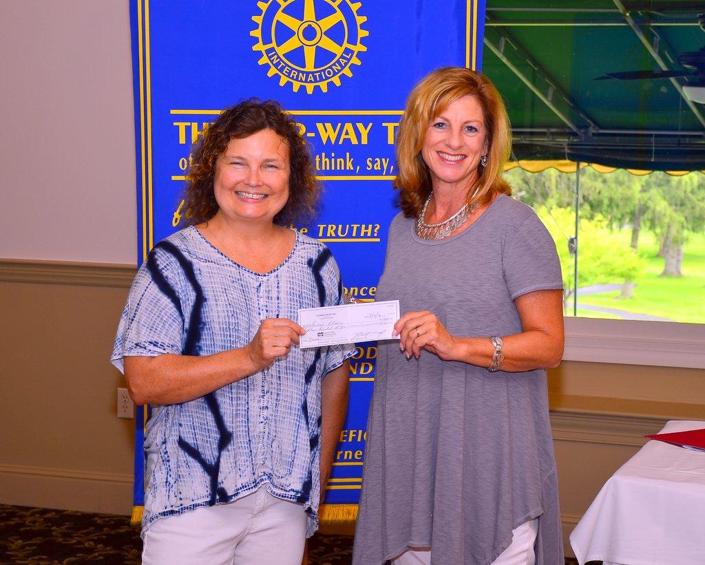 Flemington Rotary Donates $1800 to Animal Alliance